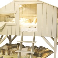 Childrens Treehouse Bed | Lighting, nightlights and kids lamps, childrens interiors, bedrooms and christening gifts for babies