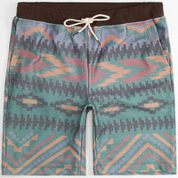 Elwood Svrf Tribal Stripe Mens Shorts Multi  In Sizes