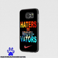 Nike Haters Motivation Nebula Galaxy for iphone 4/4s/5/5s/5c/6/6+, Samsung S3/S4/S5/S6, iPad 2/3/4/Air/Mini, iPod 4/5, Samsung Note 3/4 Case * NP*