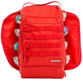 Graffiti utility backpack Red Hawk Backpack (SPRAYGROUND)