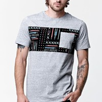 On The Byas - Star Wars Lightsaber Panel Pocket T-Shirt - Mens Tee - Gray