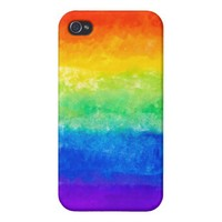 ROY G BIV Tie Dye iPhone 4 Case from Zazzle.com