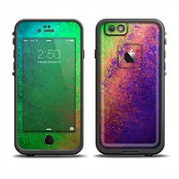 The Vivid Neon Colored Texture Skin Set for the Apple iPhone 6 LifeProof Fre Case