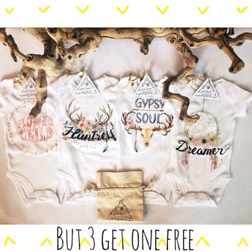 BUNDLE: BUY 3 Onesuits® + Get 1 FREE! With bib or hat.
