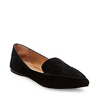 Women's Leather Loafers with Pointed Toe | Steve Madden FEATHER