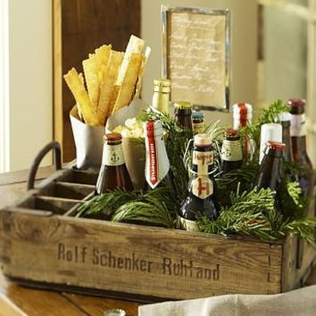 PB Found Beer Crates | Pottery Barn