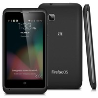 4'' ZTE Open C Dual Core Android 4.4 KitKat 3G Smartphone Qualcomm 1.2 GHz Cell Phone, 4GB ROM 512MB RAM(Black)