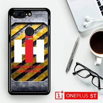Harvesters Ih Tractor Logo Z3869  OnePLus 5T / One Plus 5T Case