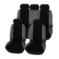 Furnistar 9-Piece Velvet Car Vehicle Protective Seat Covers CV0195-2