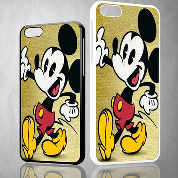 mickey mouse new cartoon X0593 iPhone 4S 5S 5C 6 6Plus, iPod 4 5, LG G2 G3 Nexus 4 5, Sony Z2 Case