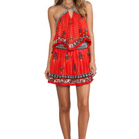 Free People Smoke & Mirrors Party Dress in Fiesta Red Combo from REVOLVEclothing.com