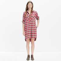 Daywalk Shirtdress in Fairfax Plaid