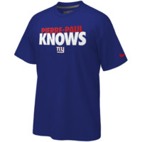 Nike New York Giants Pierre-Paul Knows T-Shirt - Royal Blue