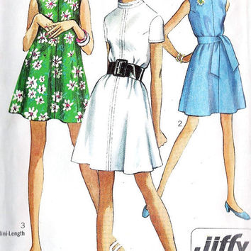 1960s Jiffy Tent Dress in 2 Lenghts Vintage by MissBettysAttic