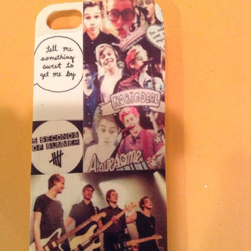 5sos case by CustomCreations1010 on Etsy