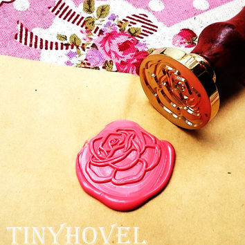 Buy 1 Get 1 Free - 1 pc Rose Gold Plated - Handmade retro gifts Wax Seals Stamp Wax Seal(WS26)