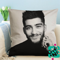 Zayn Malik One Direction Zippered Pillow Case, Cushion Case, Pillow case