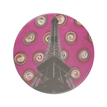 Eiffel Tower Sandstone Coaster