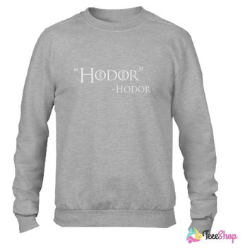 Game of Thrones - Hodor Crewneck sweatshirtt
