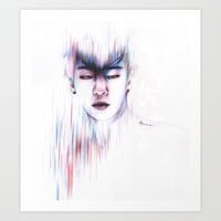 Blurred memory Art Print by by_hj93
