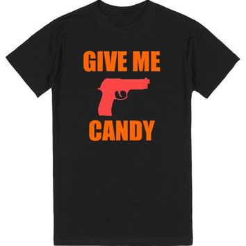 Give Me Candy Halloween Shirt | T-Shirt | SKREENED