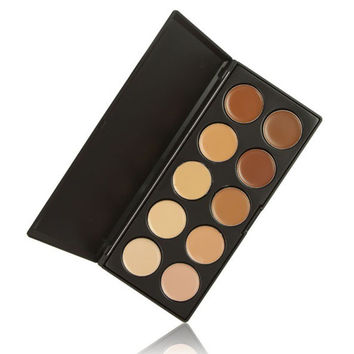 10 Color Makeup Cosmetic Blush Powder Palette