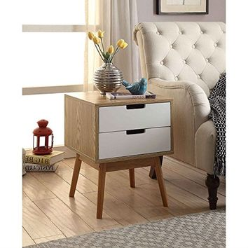 Modern Mid-Century Style End Table Nighstand
