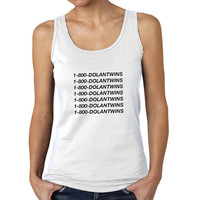 1-800-DOLANTWINS dolan twins Woman Tank Top