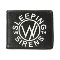 Sleeping With Sirens Circle Logo Bi-Fold Wallet