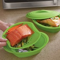 Jumbo 3-Pc. Silicone Steamer @ Fresh Finds