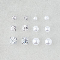 AEO 6-Pack Stud Set, Silver