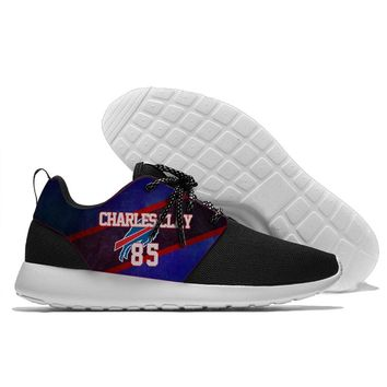 Running Shoes Lace Up Sport Shoes Bills players Charles Clay and Kyle Williams logo Walking weight from Buffalo new style