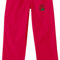 Ohio State University Red Scrub Pant