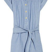 A.P.C. | Belted chambray dress | NET-A-PORTER.COM