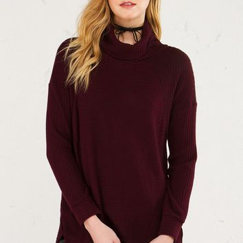 CUDDLE BUDDY TURTLENECK SWEATER - What's New