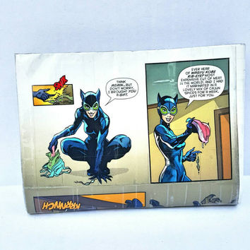 Catwoman Comic Book Pouch - Clutch - Handbag