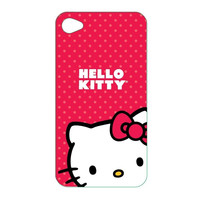 Hello Kitty KT4478R IPod Touch 4 Case Pink Polycarbonate Wrap