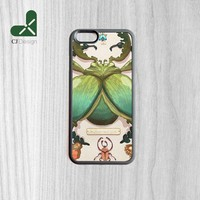 Luxury Brand Beetle Collection Printing Rubber Mobile Phone Shell for iPhone 6 6s And 4 4s 5 5s 5c 6 plus Case Cover