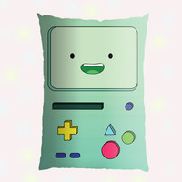 Adventure Time BMO Beemo Pillow Case - Custom Pillow - One side ( Front Print )