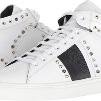 Versace Collection Mens Spiked High Top Sneaker