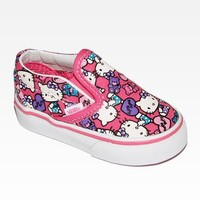 VANS x Hello Kitty Toddler Slip-On: Collage