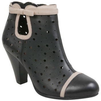 Miz Mooz Chic Black Ankle Boot