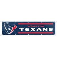 Houston Texans NFL Applique & Embroidered Party Banner (96x24)
