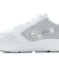 SALE IN STOCK - Nike Revolution 3- Crystallized Swarovski Swoosh