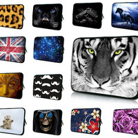 TRENDY STYLISH BRAND NEW 7 10 12 13 15 17 17.3 inch Laptop Sleeve Waterproof  Shockproof Sleeve Pouch Bag Tablet Case Cover For 7 15.6 13.3 Dell HP ASUS - Tmache