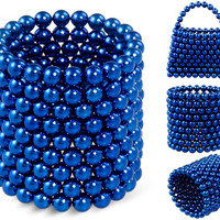 3mm Buckyballs Neocube Magnet Toy 216 PCs (Blue)