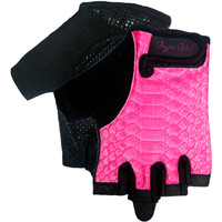 Fitness Gloves in Pink Python