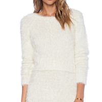 Lovers + Friends x REVOLVE Dolly Sweater in Ivory