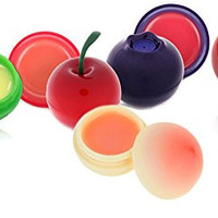 [TONYMOLY] Mini Lip Balm 7g (Cherry + Blueberry + Peach + Green Apple + Cherry Tomato = Total 5pcs Set)
