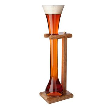 Libbey Craft Brews Half Yard of Ale Glass with Stand